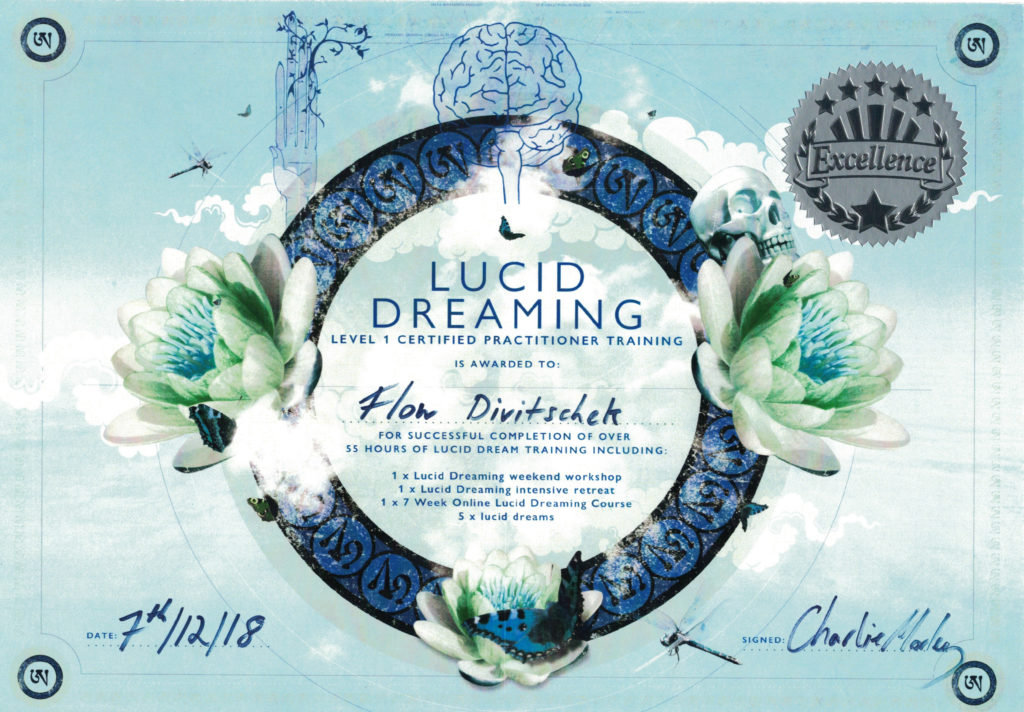 Florian DIVI – Lucid Dreamin Practitioner Certificate