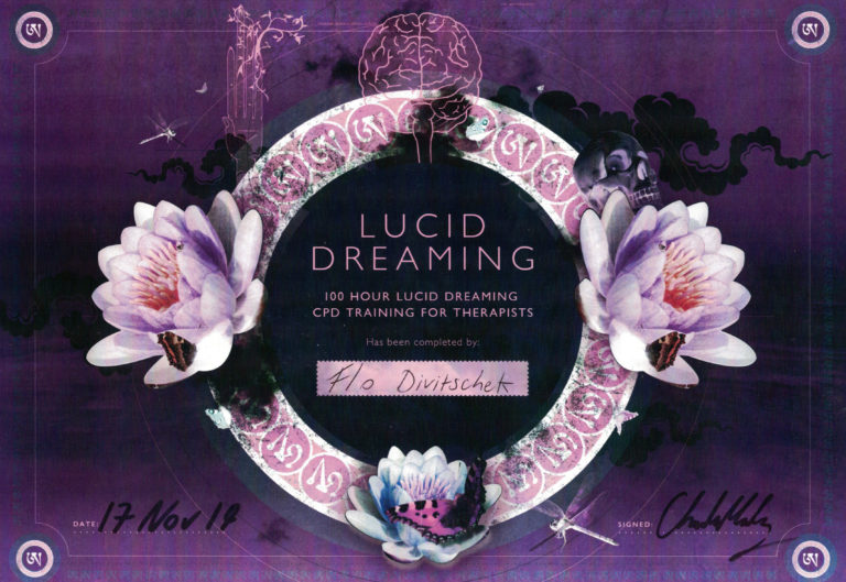 Florian DIVI – Lucid Dreaming CPD Mindfulness of Dream and Sleep Certificate