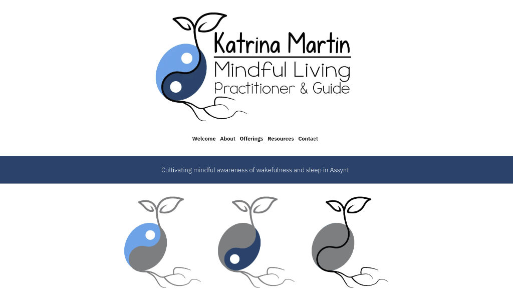 Katrina Martin Website Home
