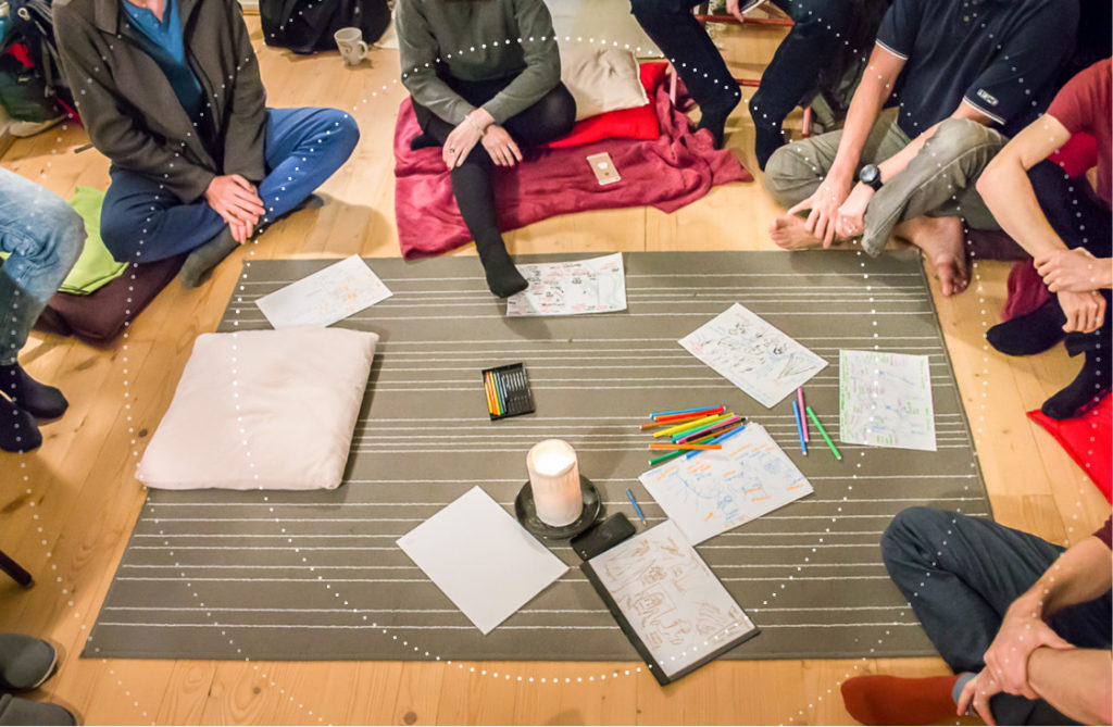 Decoding your dreams in a group through visual language
