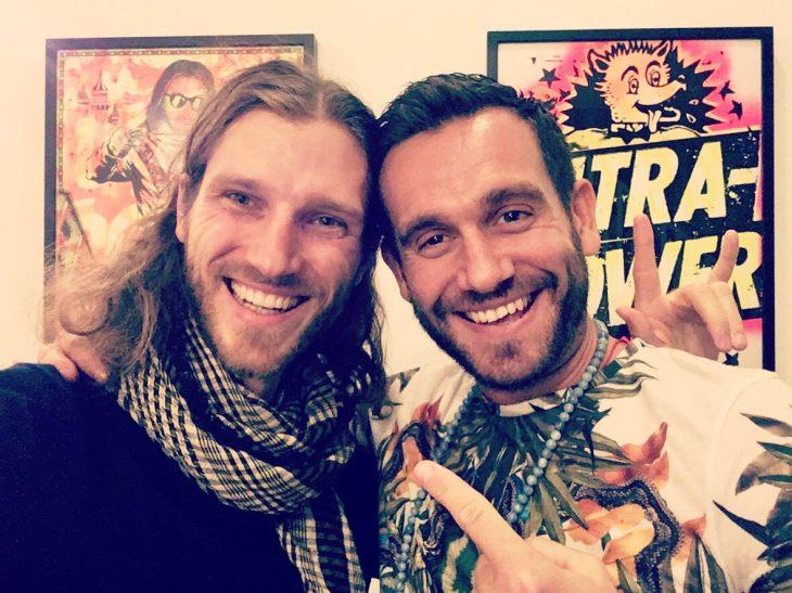 Florian DIVI and Charlie Morley London UK